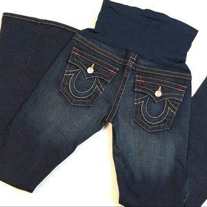 True Religion Maternity Jeans